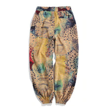 Load image into Gallery viewer, Mens Vintage Printed Casual Loose Elastic Mid Waist Jogger Pants