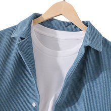 Load image into Gallery viewer, Mens Designer Pure Color Corduroy Casual Shirts