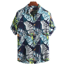 Load image into Gallery viewer, Forest Print Short Sleeves Blouse&shirt