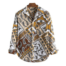 Load image into Gallery viewer, Long Sleeves Casual Printed Blouses&shirts