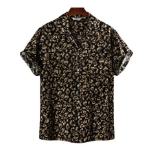 Load image into Gallery viewer, Mens Tropical Printed Short Sleeve Shirts