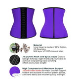 Women Shapewear Waist Trainer Underbust Cincher Corset Vest Weight Loss Tummy Control Body Shaper Back Support Girdle