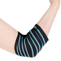 Elbow Brace for Weightlifting Compression, Comfortable and Adjustable Elbow Support for Tendonitis and Arthritis - Pair