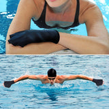 ZSZBACE Gloves Webbed Paddle Swim Gloves Fitness Water Aerobics and Water Resistance Training - 2 Colors