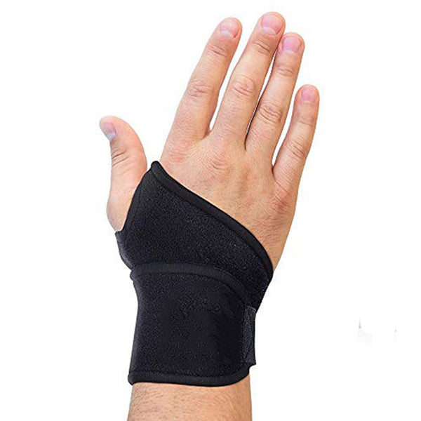 Premium Lined Wrist support /Wrist Strap/Carpal Tunnel Wrist Brace/ Arthritis Hand Support -Fits Both Hands-Adjustable Fitted