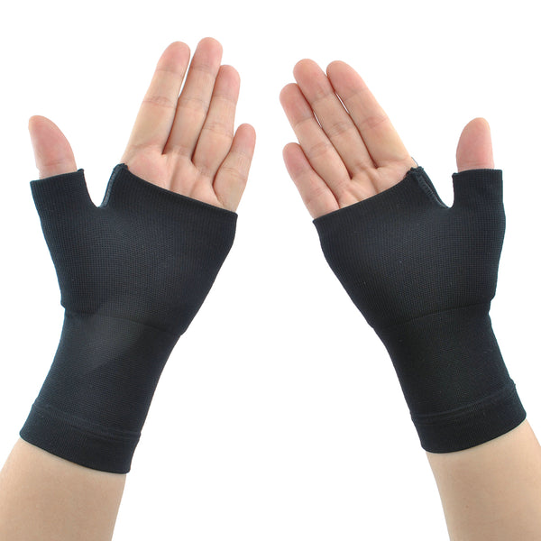 Compression Wrist Support - Wrist Sleeve for Wrist Pain, Carpal Tunnel - Wrist Brace