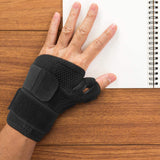 Thumb Brace - Thumb Spica Splint for Arthritis, Tendonitis and More. Fits Both Right Hand and Left Hand for Men and Women. Trigger Thumb Support Braces