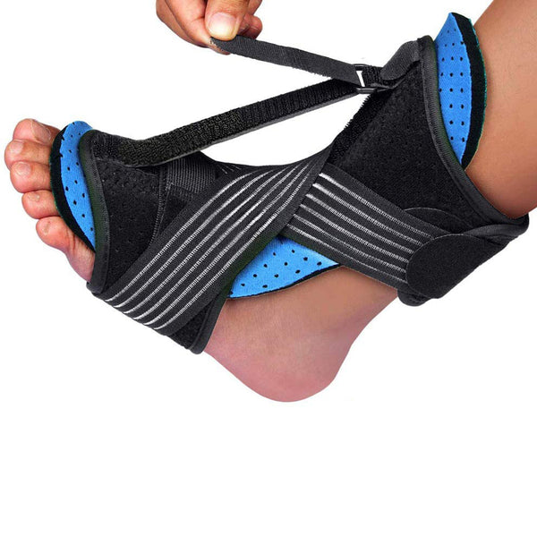 New Upgraded Night Splint for Plantar Fasciitis, Breathable and Adjustable Sleep Support Foot Drop Orthotic Brace for Plantar Fasciitis, Arch Foot Pain, Achilles Tendonitis Support for Women, Men