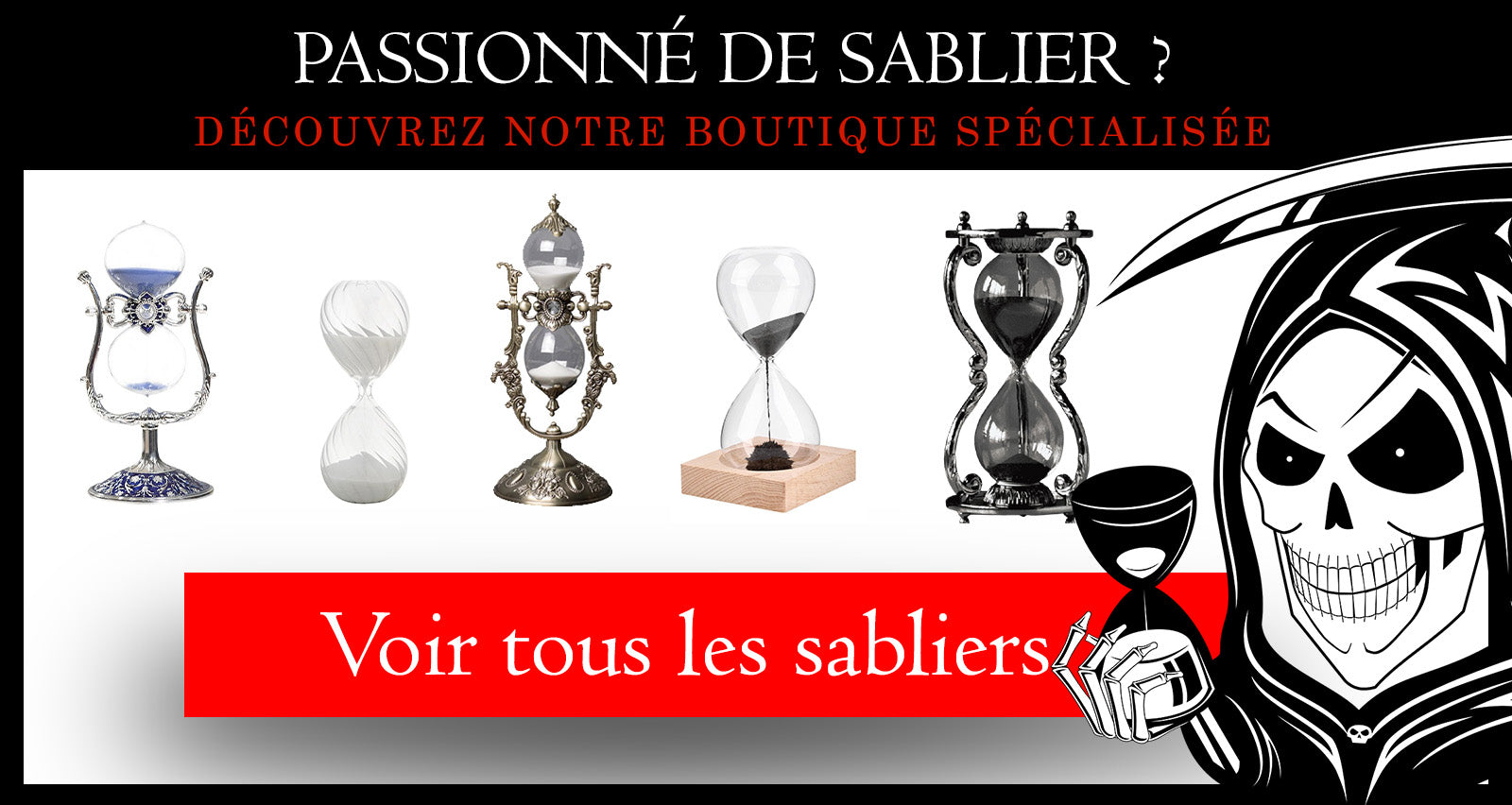 Collection de sablier - Science Nature Shop