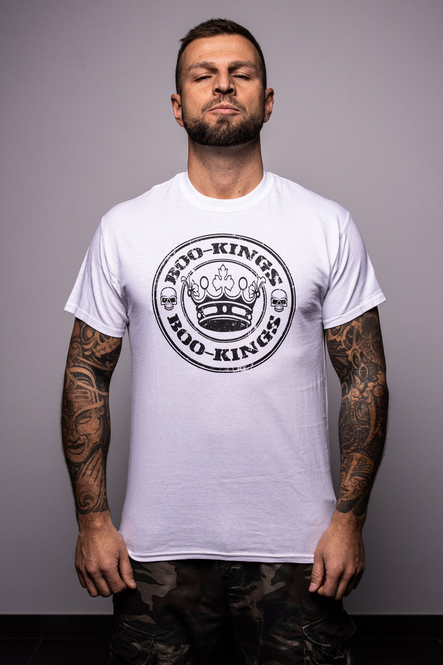 BooKings – T-Shirt – white ♂