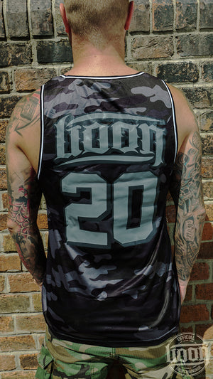 Boon – Mesh Tank Top – black ♂