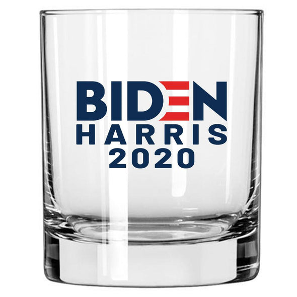 Biden Harris 2020 in Color - Whiskey Glass - Full Pallet - 1800/case at $2.75/pc