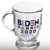 Biden Harris 2020 - Glass Mug - Case Pack - 1170/case at $2.75/pc
