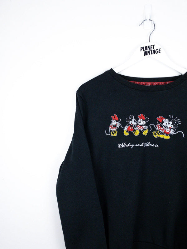 Mickey and Minnie Sweatshirt (M) - Planet Vintage Store