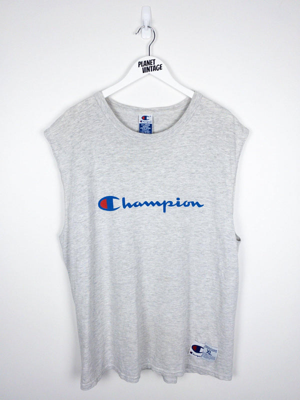 Champion Logo Tank (XL) - Planet Vintage Store