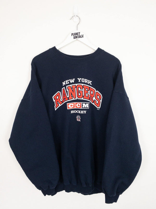 New York Rangers Sweatshirt (XL) - Planet Vintage Store