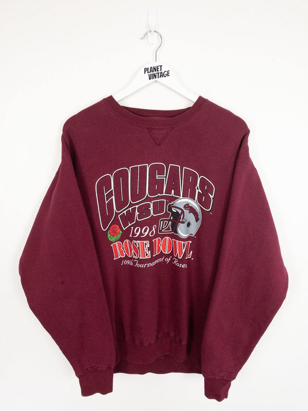Washington State Cougars Rose Bowl 1998 Sweatshirt (L) - Planet Vintage Store