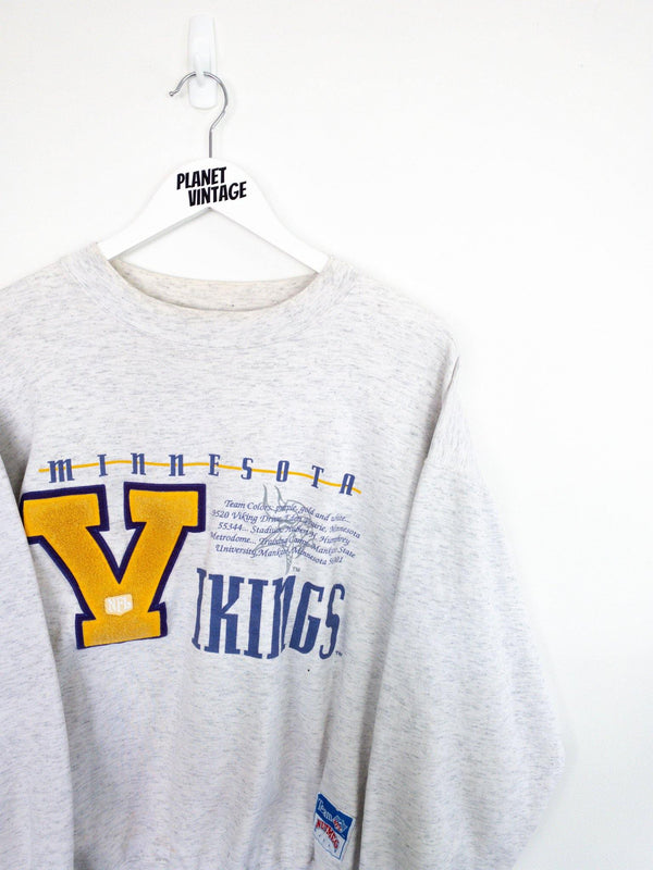 Minnesota Vikings Sweatshirt (M) - Planet Vintage Store