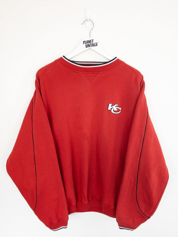Kansas City Chiefs Sweatshirt (XL) - Planet Vintage Store