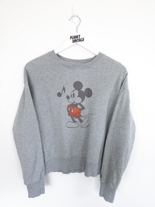 Mickey Mouse Sweatshirt (S) - Planet Vintage Store