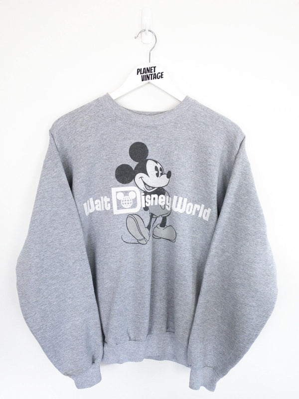 Mickey Walt Disney World Sweatshirt (M) - Planet Vintage Store