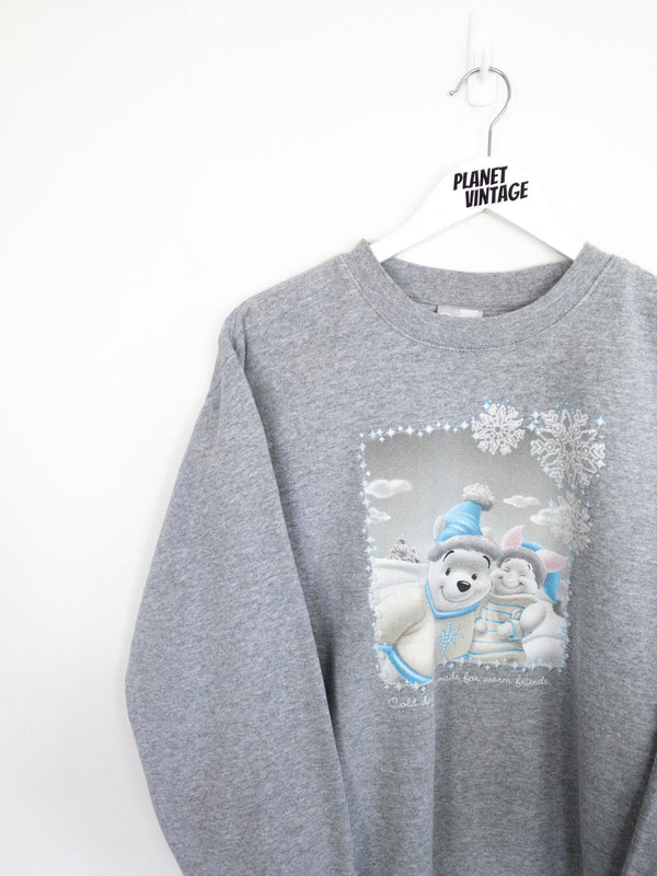 Pooh and Piglet Sweatshirt (L) - Planet Vintage Store