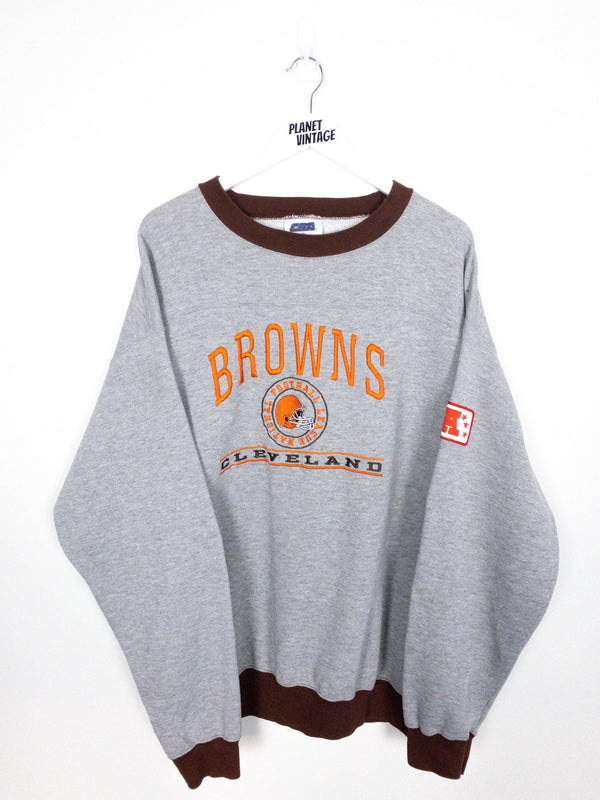Cleveland Browns Sweatshirt (XL) - Planet Vintage Store