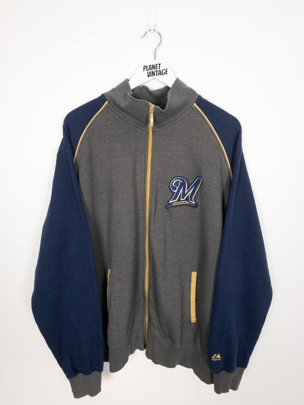 Milwaukee Brewers Sweatshirt (XL) - Planet Vintage Store