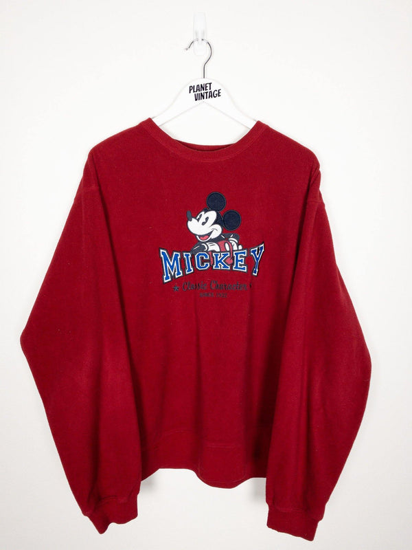 Mickey Fleece Sweatshirt (XL) - Planet Vintage Store