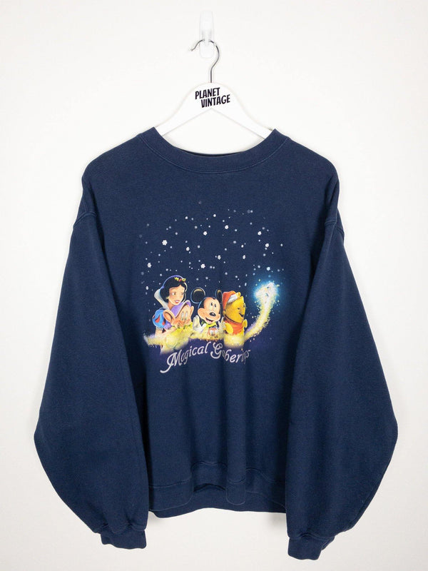 Disney Magical Gatherings Sweatshirt (XL) - Planet Vintage Store