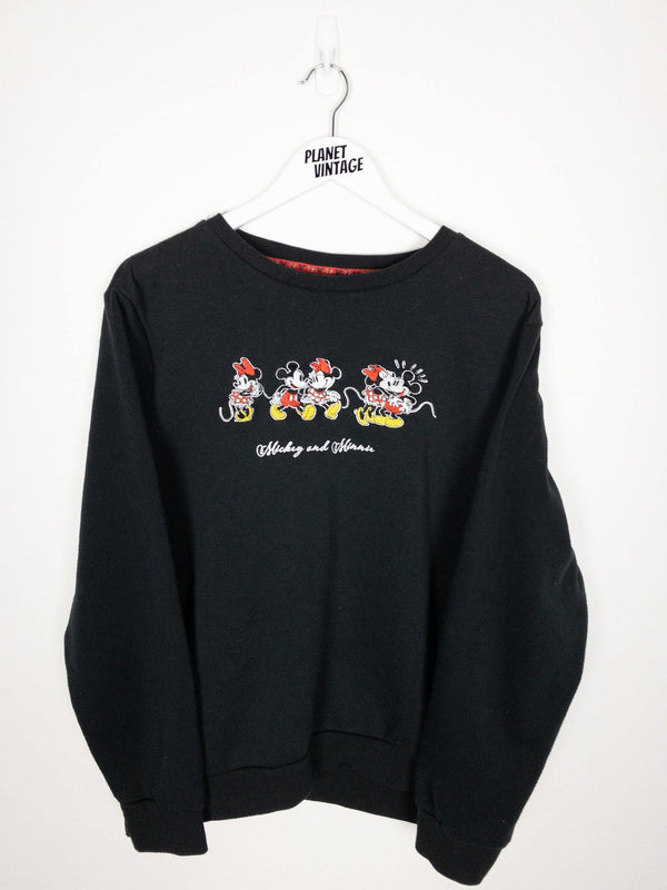 Mickey and Minnie Sweatshirt (L) - Planet Vintage Store