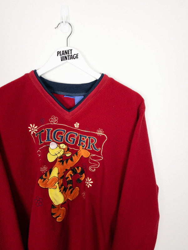 Tigger Fleece Sweatshirt (L) - Planet Vintage Store