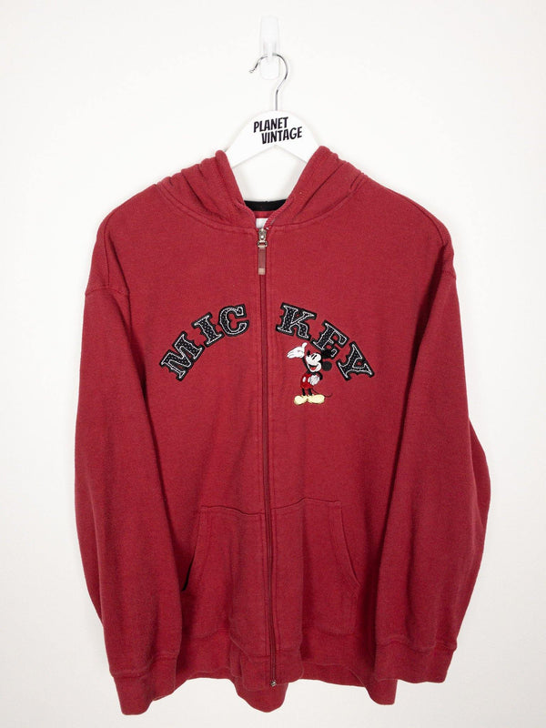 Mickey Zip-up Hoodie (XL) - Planet Vintage Store