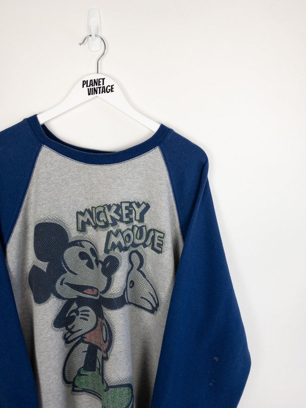 Mickey Mouse Sweatshirt (L) - Planet Vintage Store