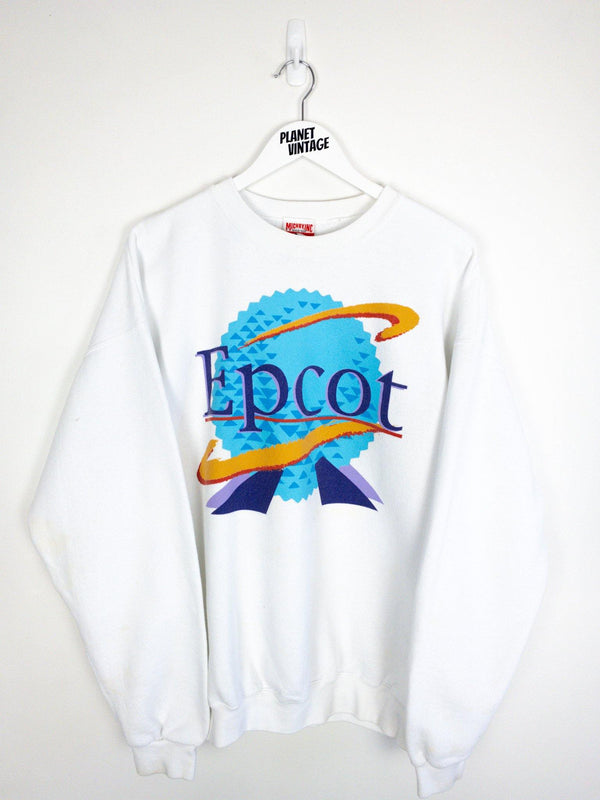 Disney Epcot Florida Theme Park Sweatshirt (XL) - Planet Vintage Store