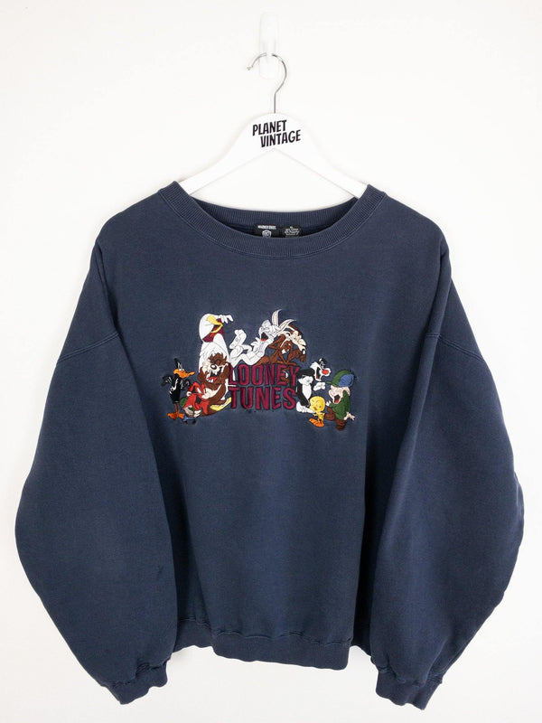 Looney Tunes Sweatshirt (XL) - Planet Vintage Store
