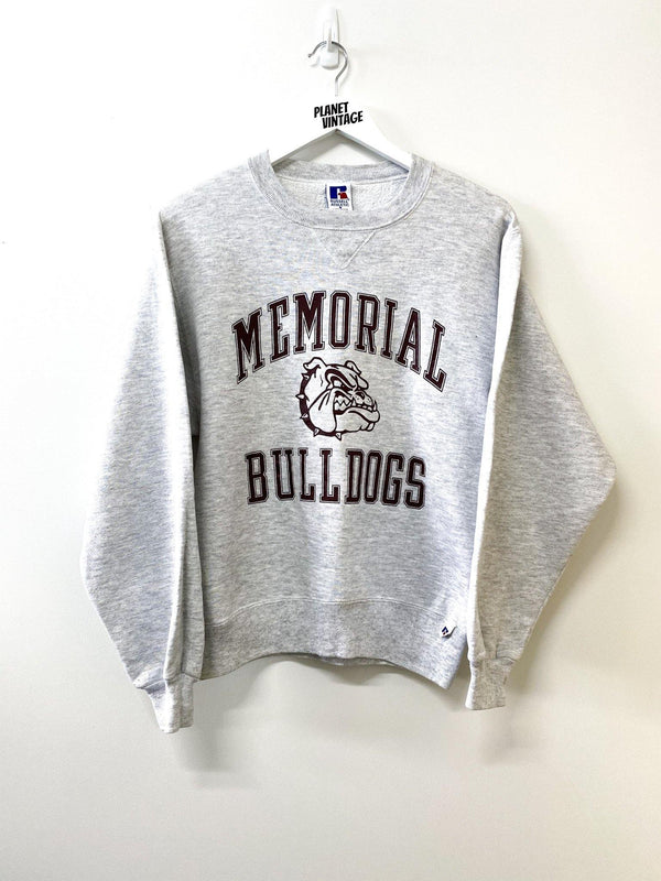 Memorial Bulldogs Sweatshirt x Russel (S) - Planet Vintage Store
