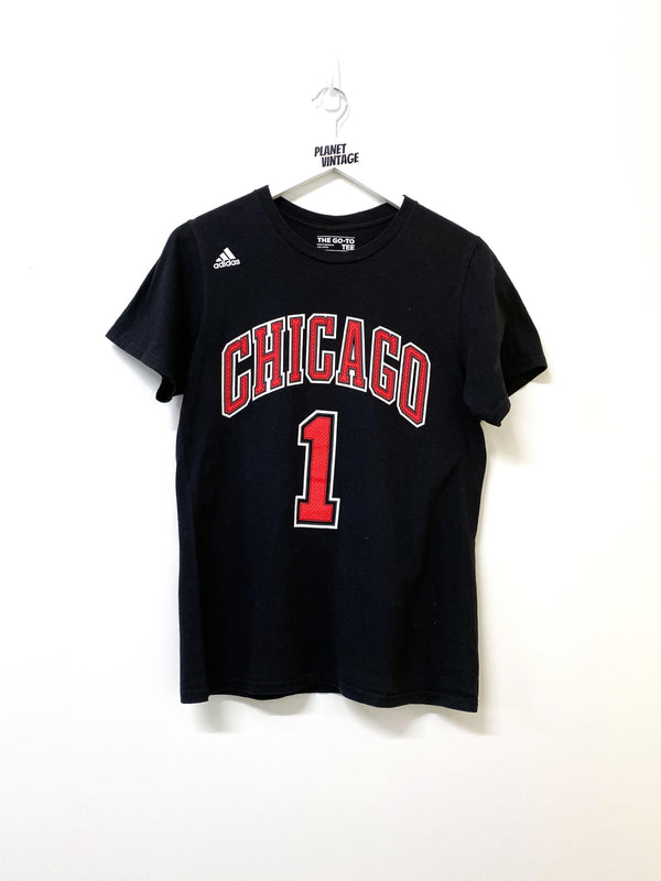 Chicago Rose x Adidas Tee (S) - Planet Vintage Store