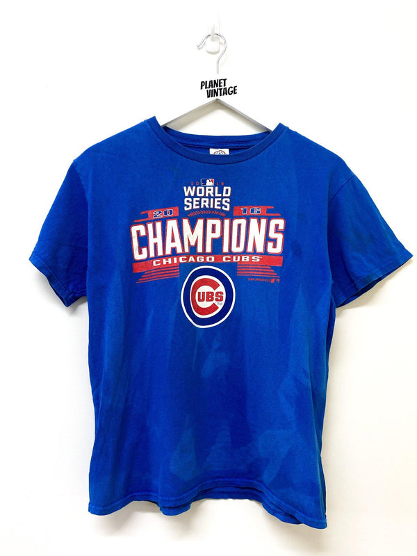 Chicago Cubs Champs Tee (S) - Planet Vintage Store