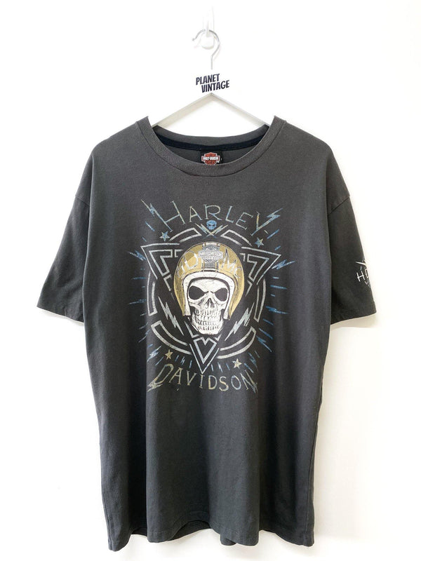Harley Davidson Texas Tee (L) - Planet Vintage Store