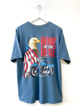 Harley Davidson Home of the Brave 1996 Tee (M) - Planet Vintage Store