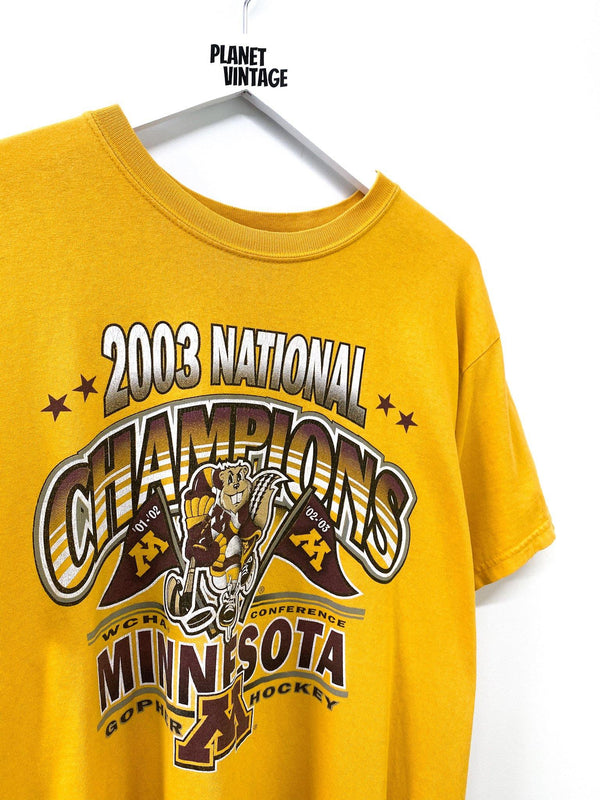 Minnesota Golden Gophers Champs Tee (M) - Planet Vintage Store
