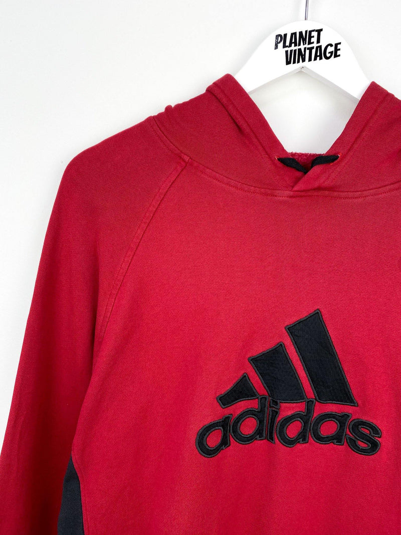 Adidas Spellout Hoodie (L) - Planet Vintage Store
