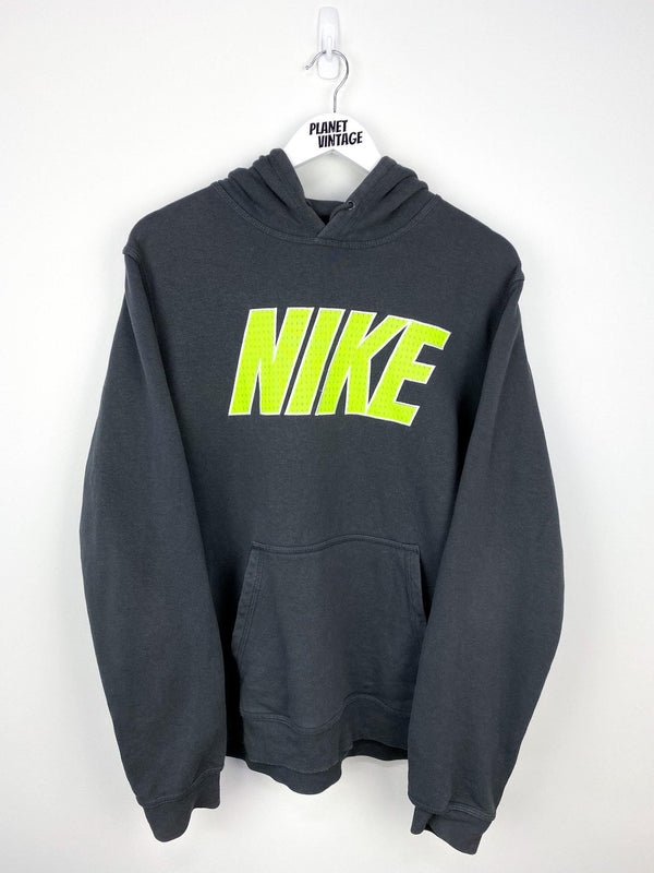 Nike Spellout Hoodie (L) - Planet Vintage Store