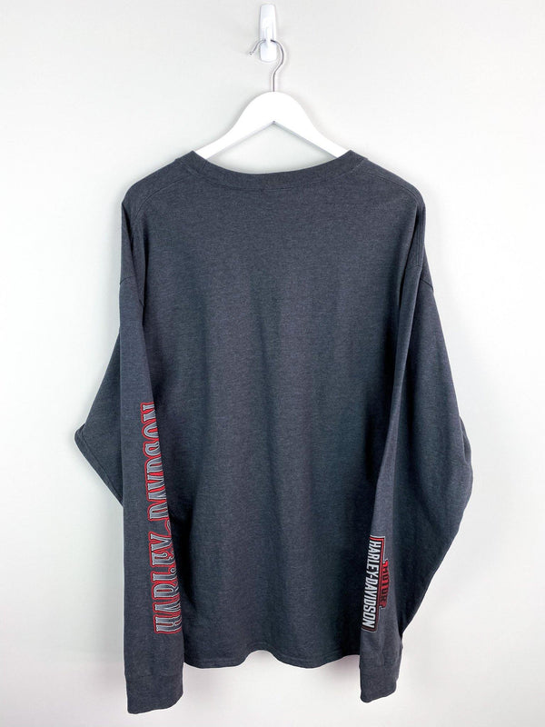 Harley Davidson Long Sleeve Tee (XL) - Planet Vintage Store