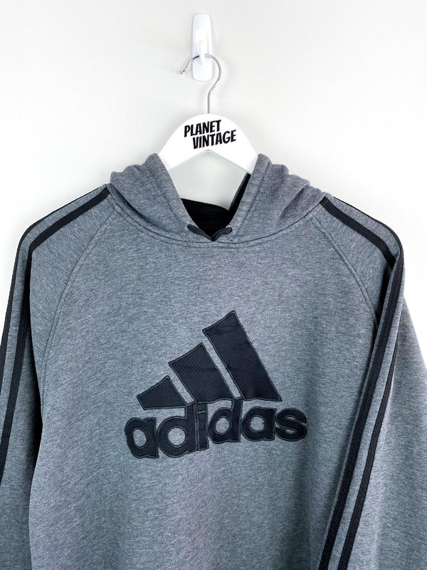 Adidas Spellout Hoodie (XXL) - Planet Vintage Store