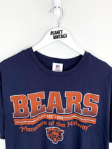Chicago Bears Tee (L) - Planet Vintage Store