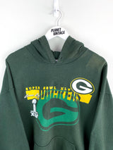 Green Bay Packers Super Bowl Hoodie (XL) - Planet Vintage Store