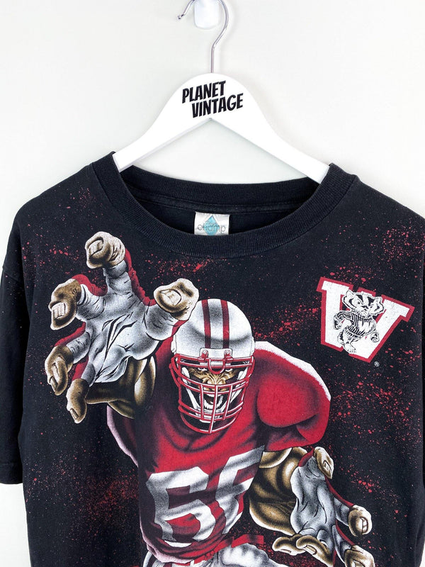 Wisconsin Badgers Tee (L) - Planet Vintage Store