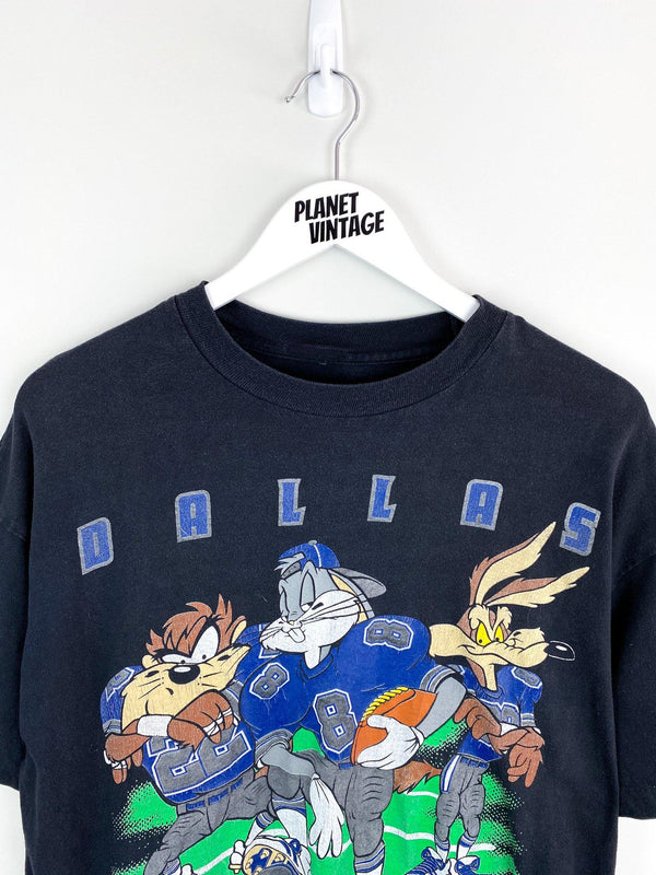 Dallas Cowboys x Looney Tunes 1993 Tee (L) - Planet Vintage Store
